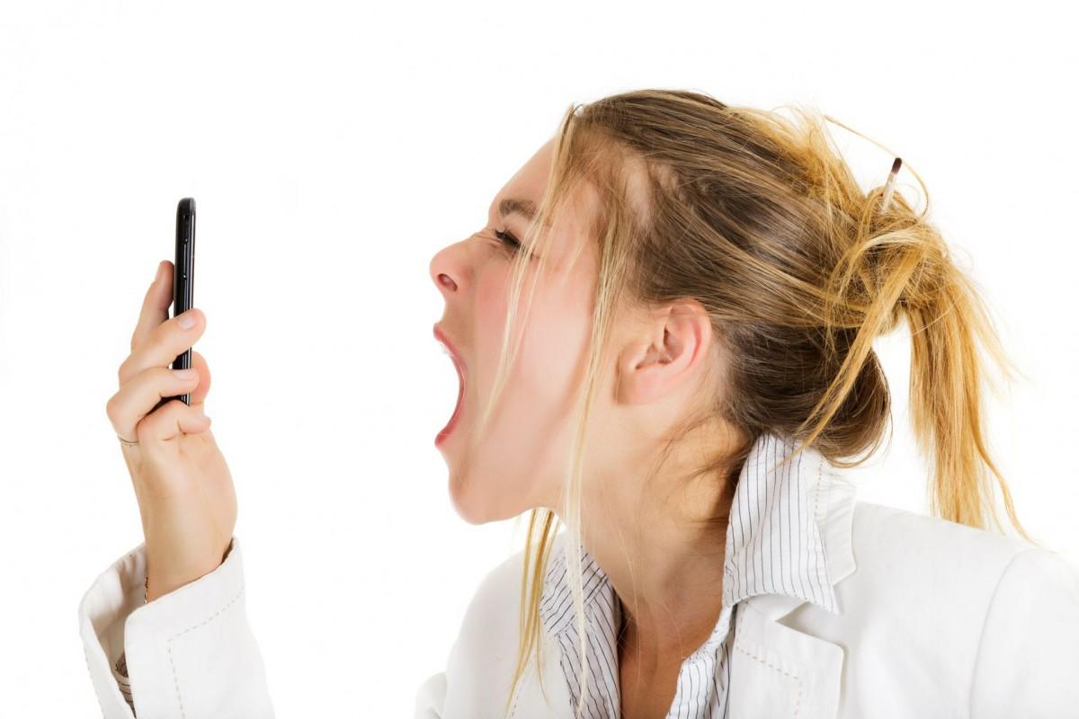 Раздражает мобильный телефон