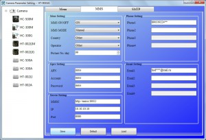 Настройка передачи данных e-mail