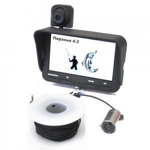 Видеоудочка Пиранья 4.3-2cam – лучший вариант для профессионалов