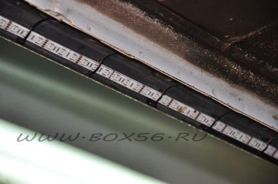Стяжки нейлоновые Rexant 300x5.0mm (25шт) Blue 07-0305-25