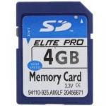 Карта памяти SD 4GB