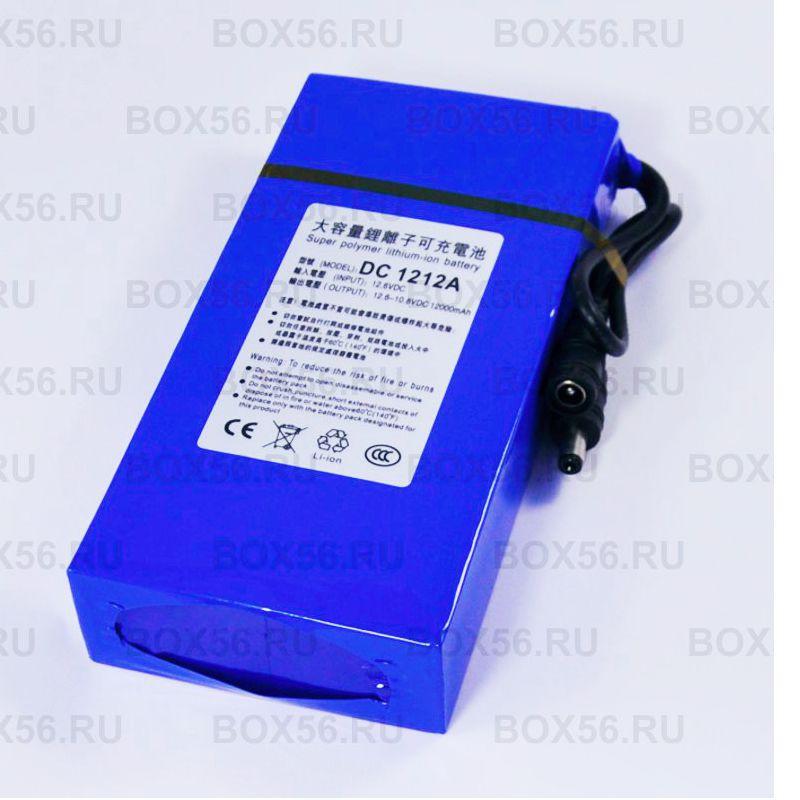 12000 mAh Литий-ионный аккумулятор 12V